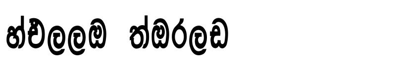 Preview of Asgiriya Regular