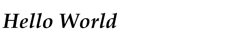 Preview of Book Antiqua Bold Italic