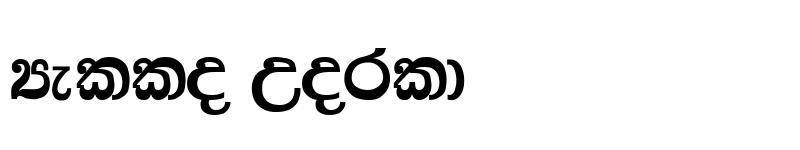Preview of NIDAHASA Tharaka Regular